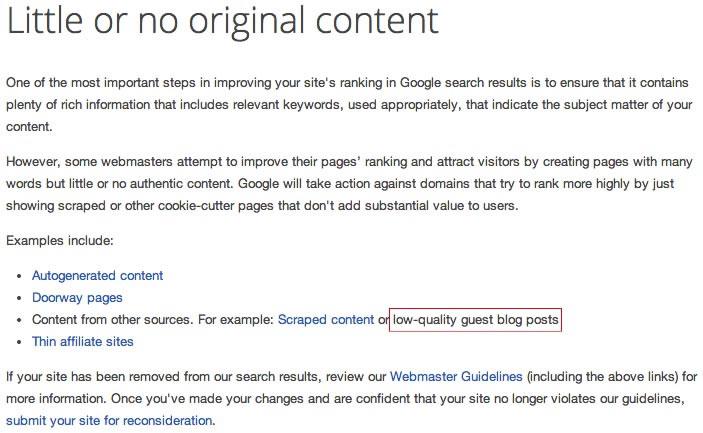 谷歌更新站长指南:严厉打击低质公共博客 微新闻 第2张
